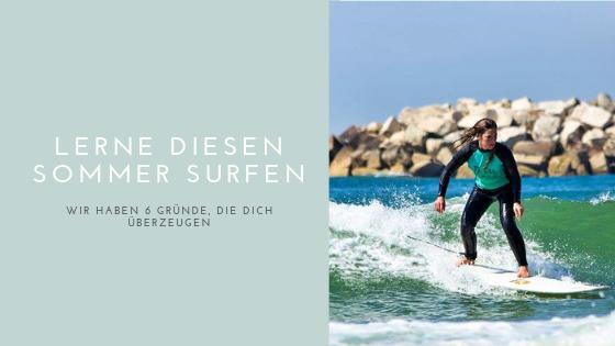 Lerne diesen Sommer surfen